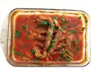 Tucson Mediterranean Food Club | Spaghetti Kebab