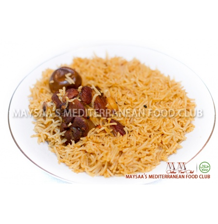 MM Food Club - Kabsa Plate