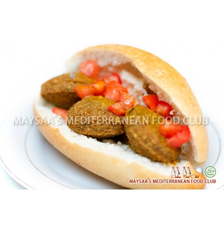 MM Food Club - Falafel Sandwich